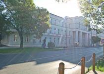 A bíróság épülete 2012-ben